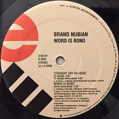BRAND NUBIAN:WORD IS BOND(LABEL SIDE-B)