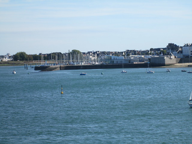 Town across River from Lorient