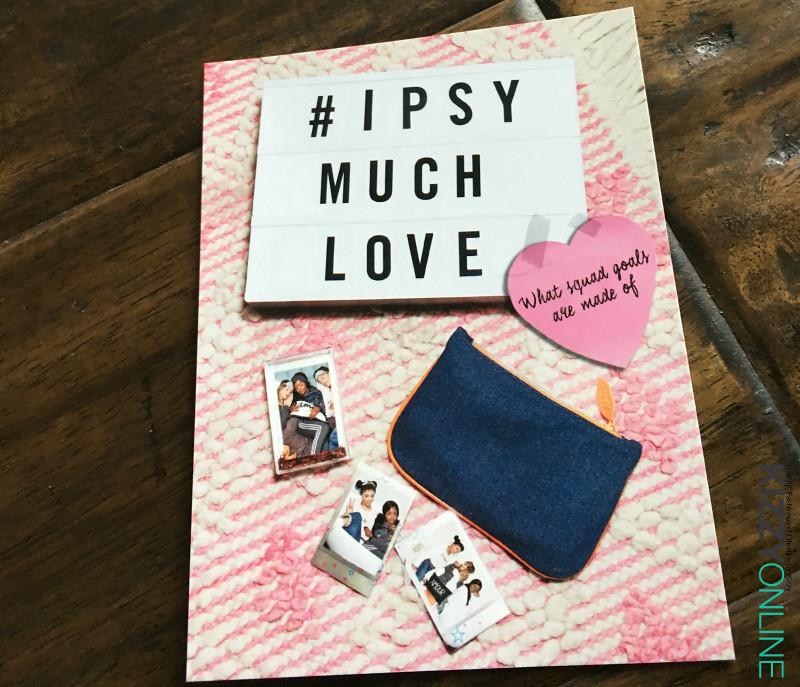 ipsy glam bag February 2017