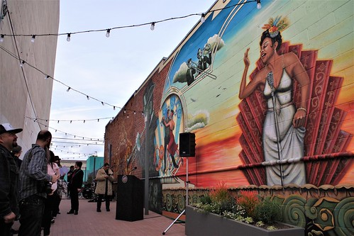 Dedication of Mural by Luis Sanchez | by Joey Z1