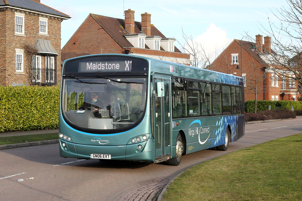 Kings Hill Connect | On the second day of operation, ARRIVA … | Flickr
