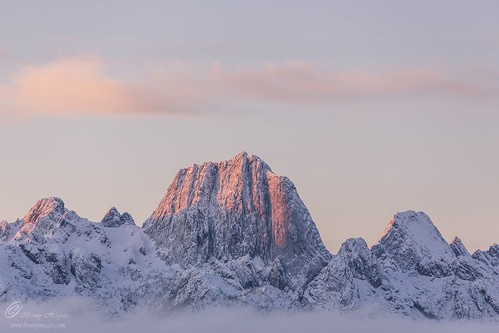 The mountain Reka. Epic Photos from Northern Norway by Benny Høynes