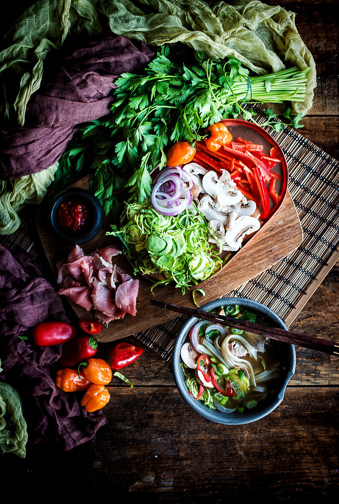 Vietnamese Bone Broth Beef Pho Recipe