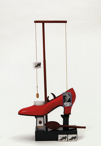 Salvador Dalí, Surrealist Object Functioning Symbolically, 1931 (replica 1973).