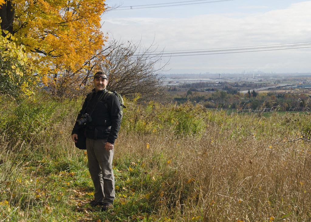 On top of the Escarpment - the Bruce Trail at Hilton Falls
