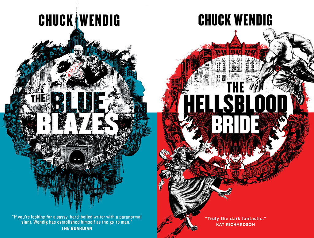 The Blue Blazes and The Hellsblood Bride Are Now Available