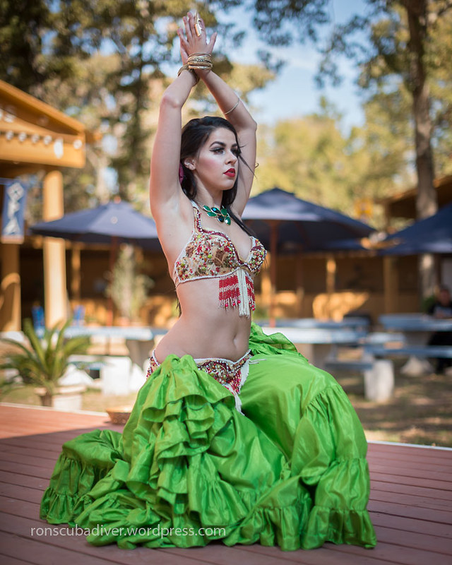 Belly Dancer, Green Skirt | by Ron Scubadiver's Wild Life