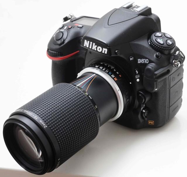 二手鏡頭 香港 . . . Nikon 75-150mm f/3.5 Series E (銀環版) 媲美定焦鏡的輕巧Zoom    由FM2至D4都有極高畫質     95新