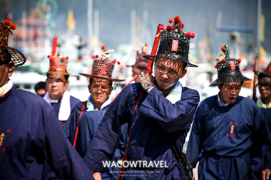 小琉球2015年迎王祭,王船祭,王船遶境