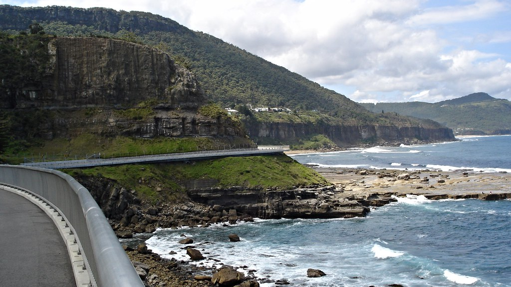 Sea Cliff Bridge, Lawrence Hargrave Drive, New South Wales