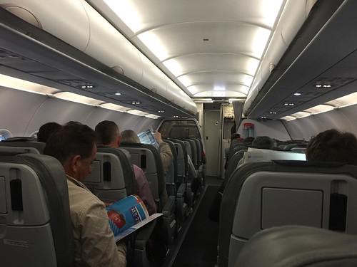 180 - Im Kurzstreckenflieger nach München