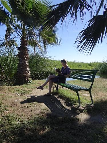 Alison reading