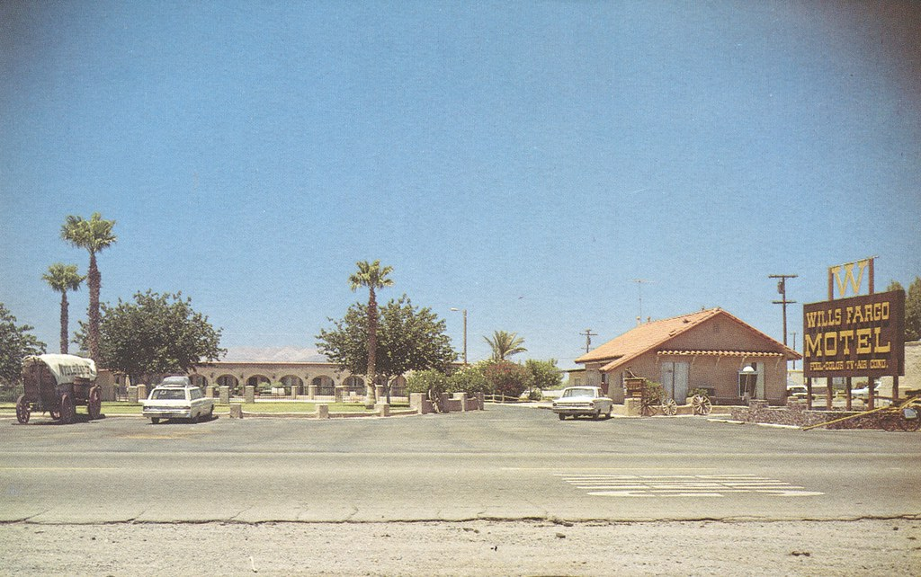Wills Fargo Motel - Baker, California