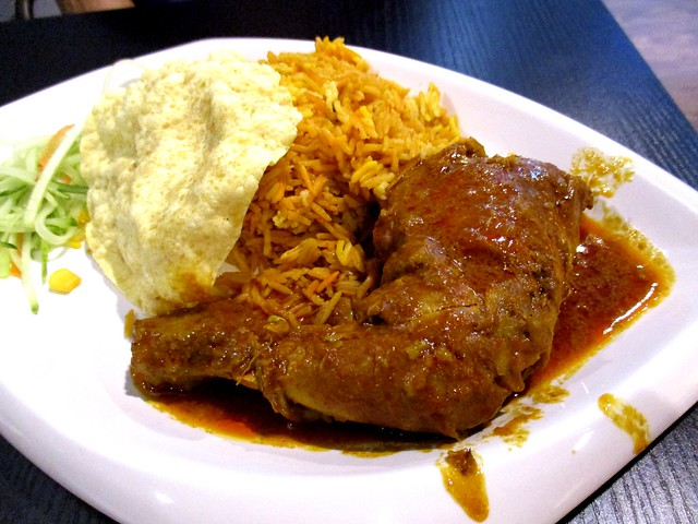 Lolibee nasi bryani chicken curry
