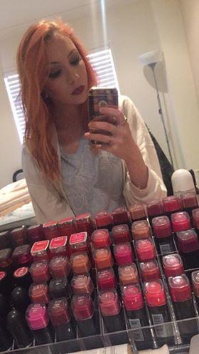 Miss 20 loves her makeup