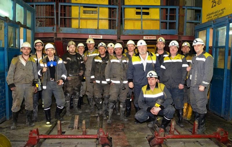 Государственная комиссия после приемки 1108 лавы в работу