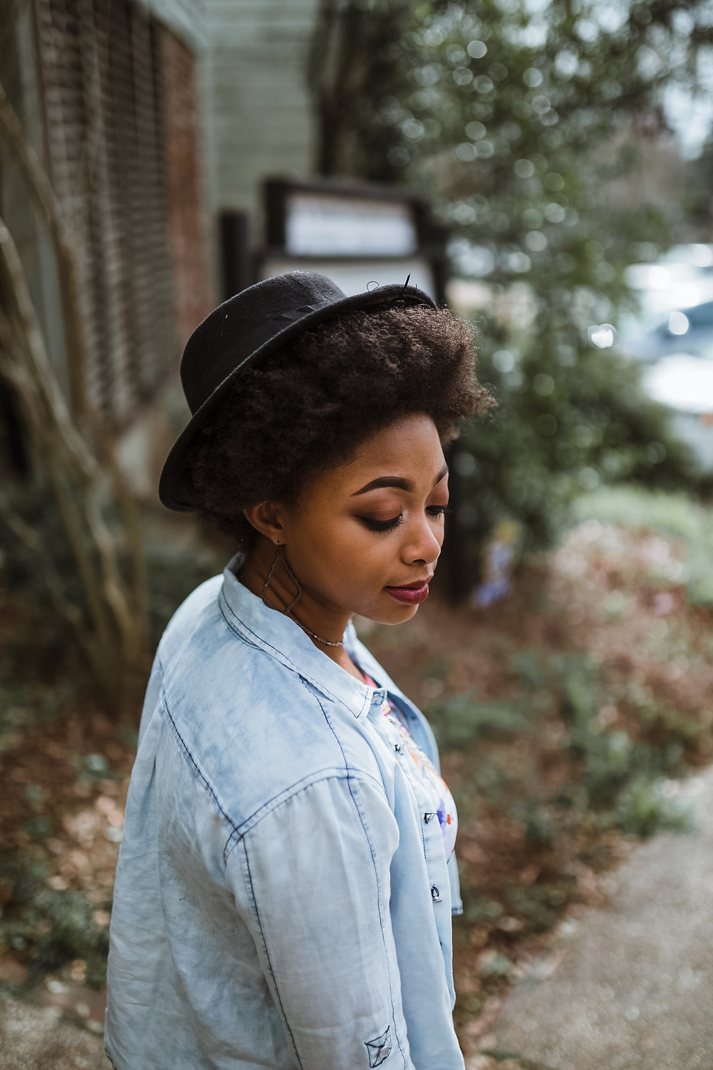 natural hair style blogger