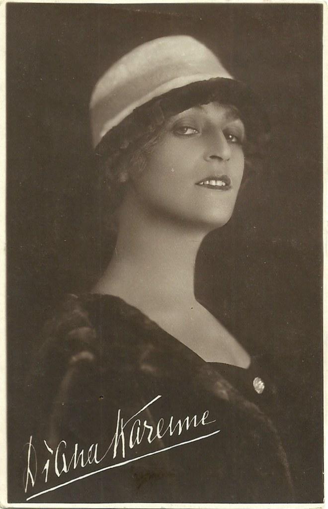 Diana Karenne   Italian postcard. Fotocelere. Polish actress…   Flickr 6fe2892ba2