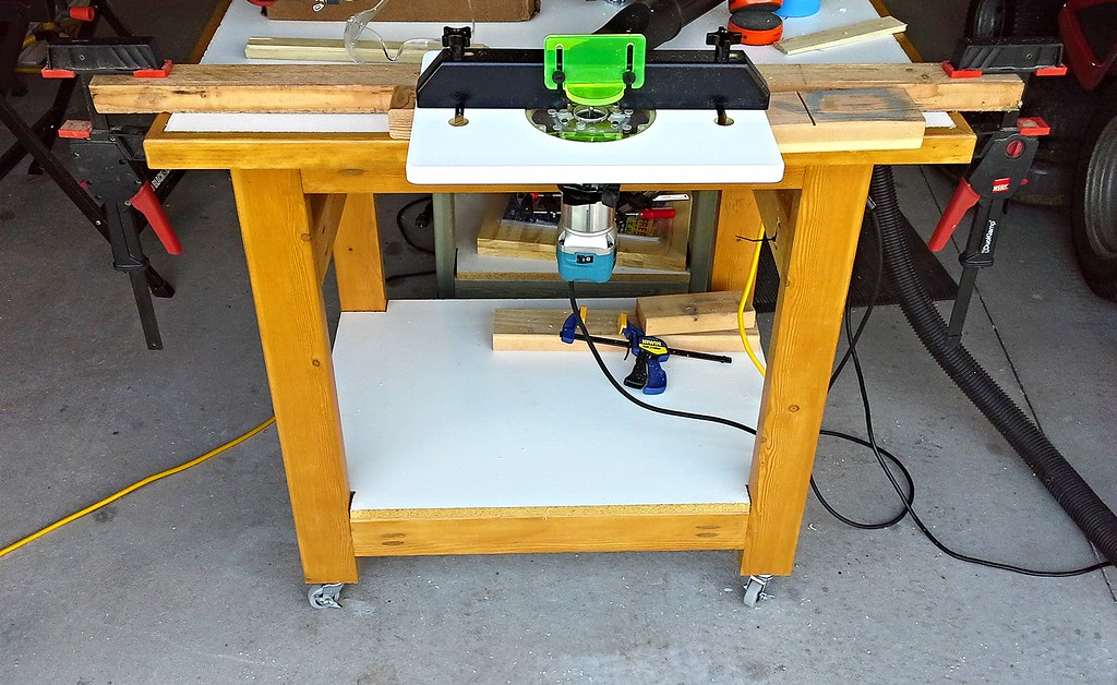 Poor mans router table test setup of a rockler trim route flickr poor mans router table by hz536ngeorge thomas greentooth Image collections