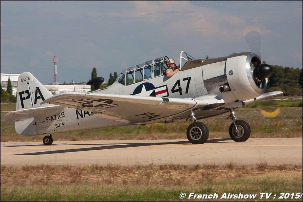 North American T-6 Texan , F-AZRB, www.f-azrb.com , F-aztl, Feria de l'air nimes garons 2016, Meeting Aerien 2015