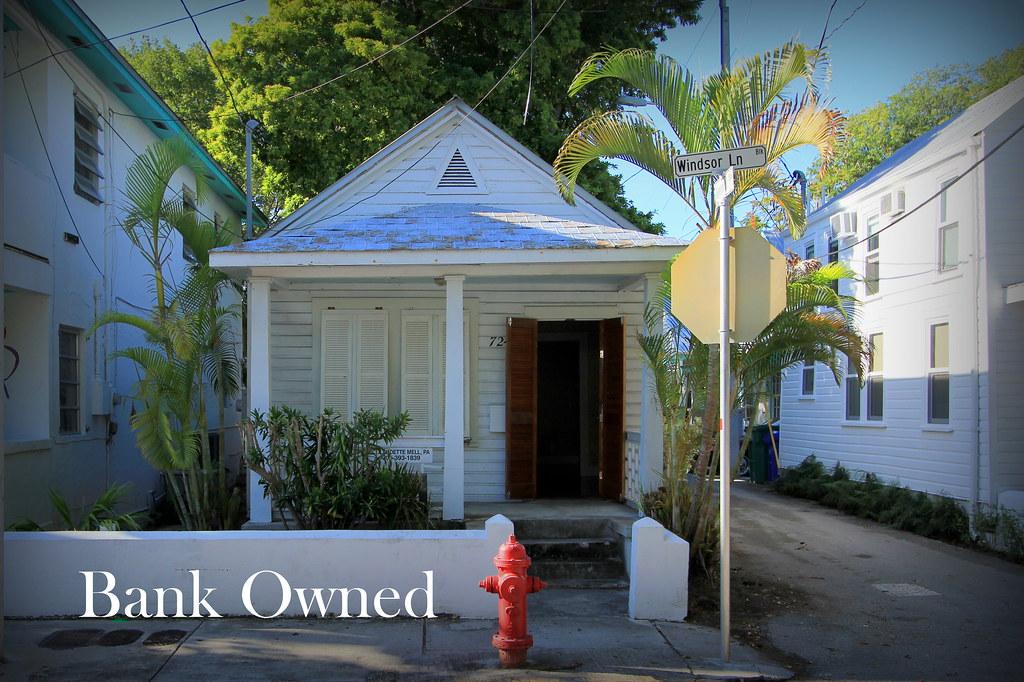 Key West Properties 724 Windsor Lane Key West Bank Owned Cottage