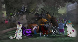 Halloween Kitties | by Saxoni Fenstalker
