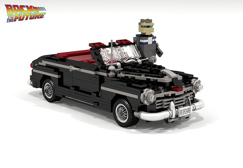 1946 Ford Super Deluxe Convertible (Back to the Future I & II) | by lego911