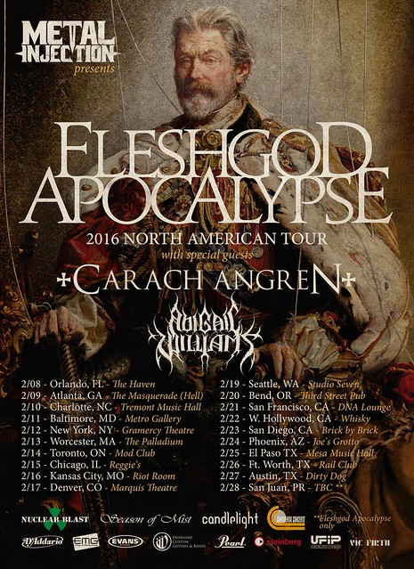 Fleshgod Apocalypse at the Metro Gallery