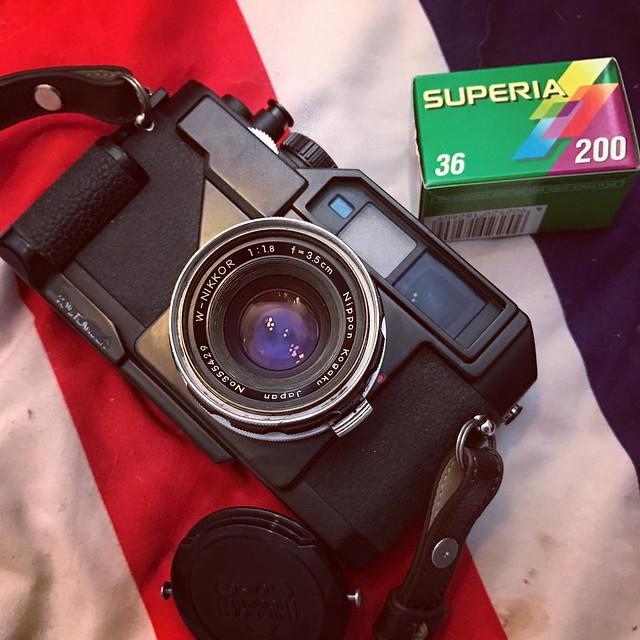 Nikon 3.5cm f1.8 五十年代的七枚玉