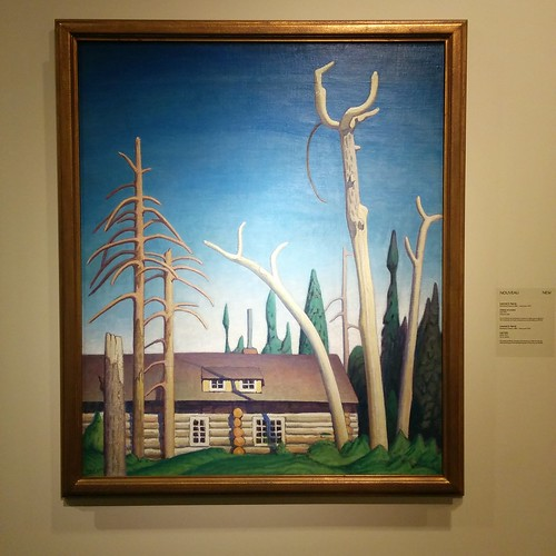 Lawren S. Harris, Log Cabin