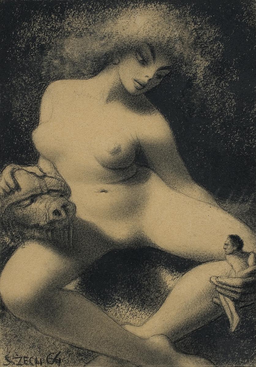 Stefan Zechowski - Nude, 1964