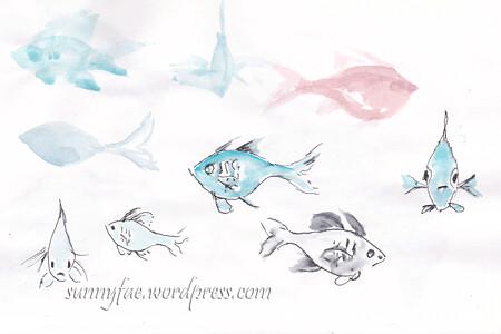 fish sketch 3