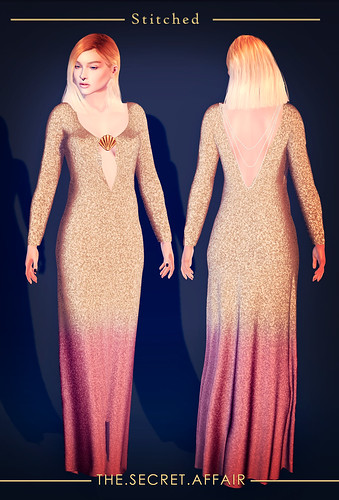Glitter mermaid dress @ The Secret Affair | by Adele Bumblefoot