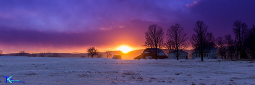 January Evening on the Farm Panorama | by Tim_NEK