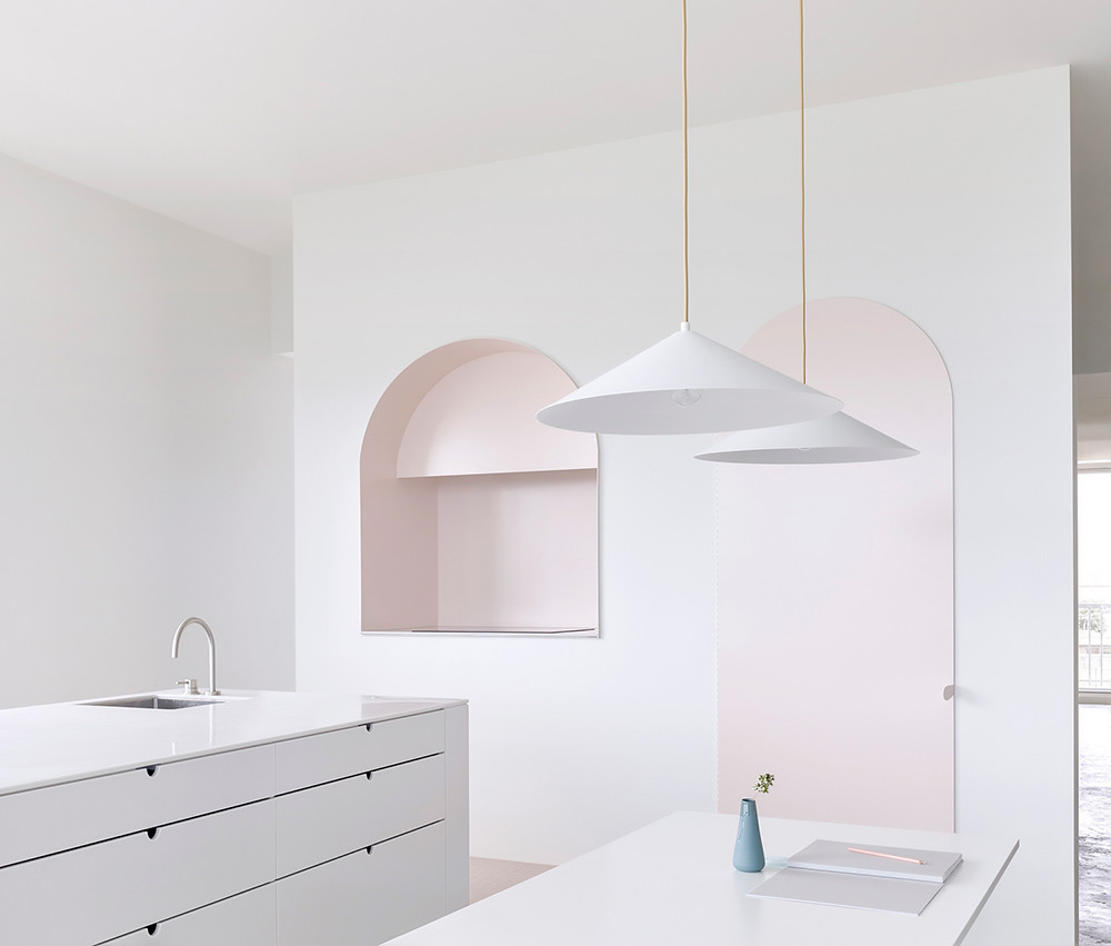 Melbourne pink apartment design by BoardGrove Architects Sundeno_01