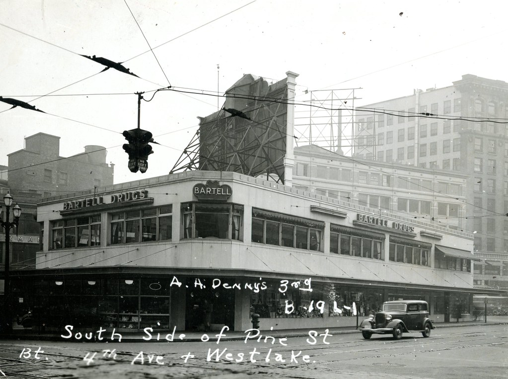 ... Bartell Drugs, 4th and Pine, Seattle, 1937   by Rob Ketcherside