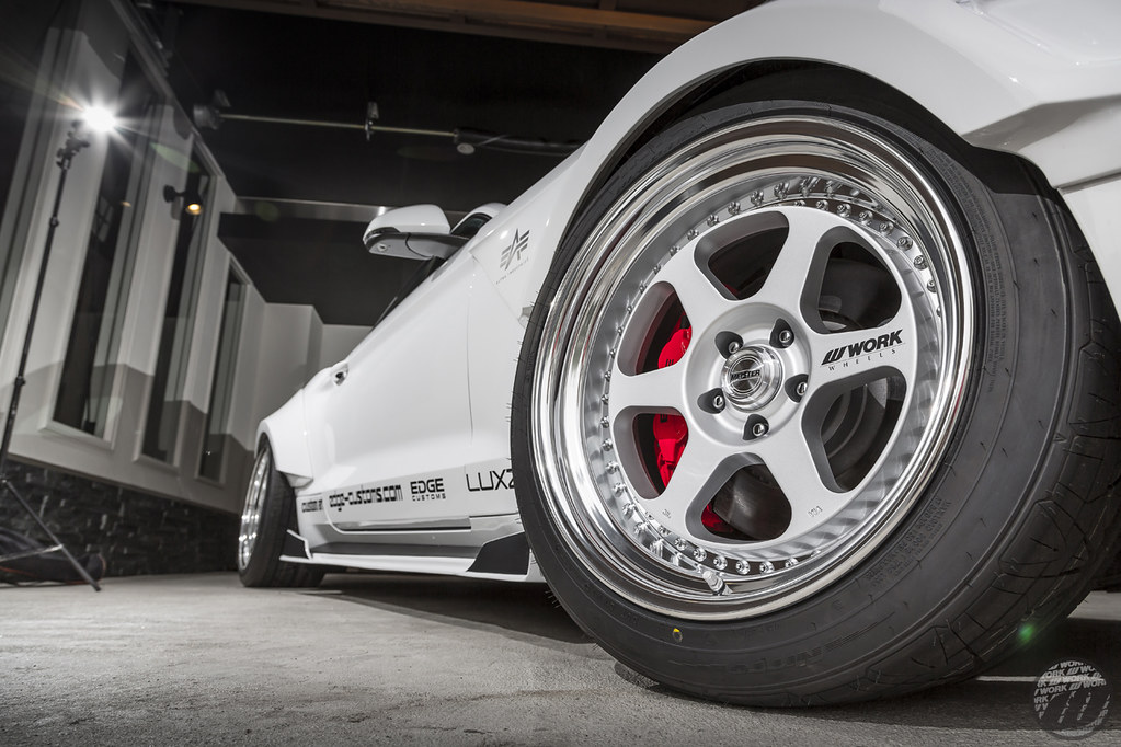 Luxz Ford Mustang On Work Meister L By Work Wheels Japan