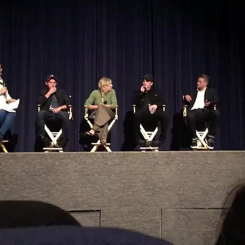 "06.04.2017 Robert Pattinson  Q&A ""The Lost City of Z"" with cast in Los Angeles № 1"