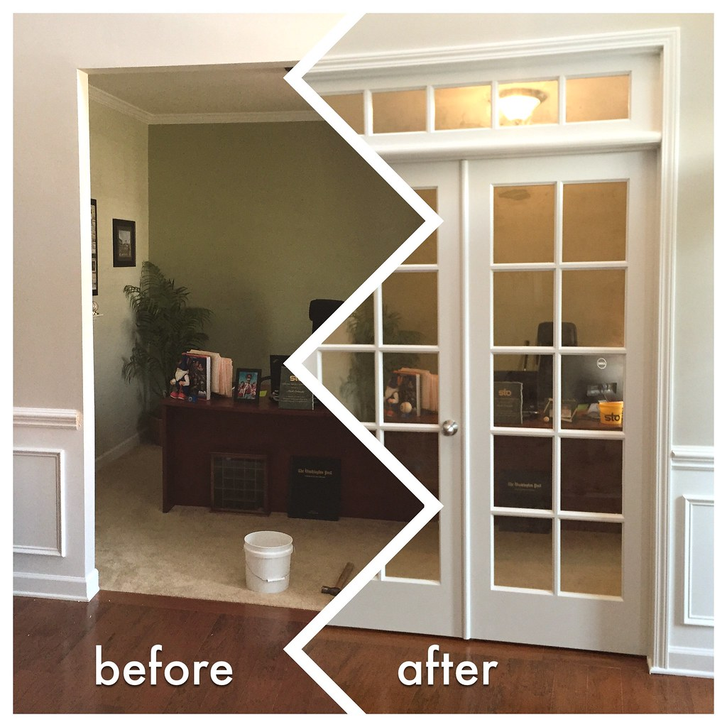 Charmant ... Office French Door Installation | By Flattop341