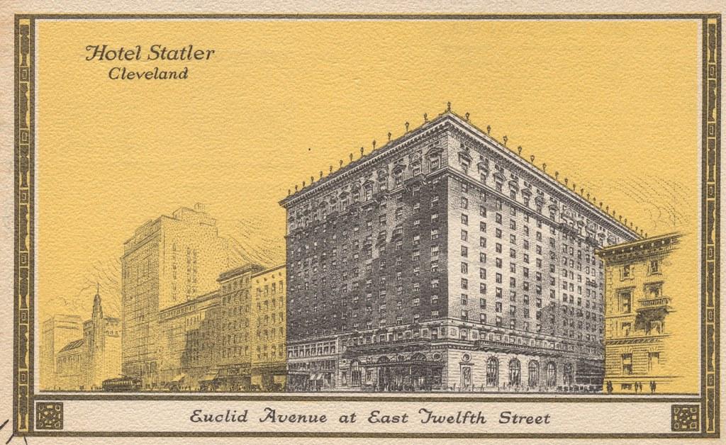 Hotel Statler - Cleveland, Ohio