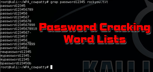 Password Cracking Wordlists and Tools for Brute Forcing