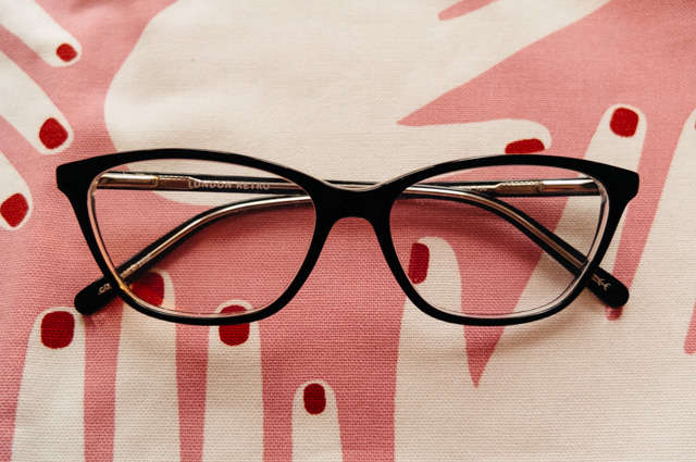 london retro jubilee glasses