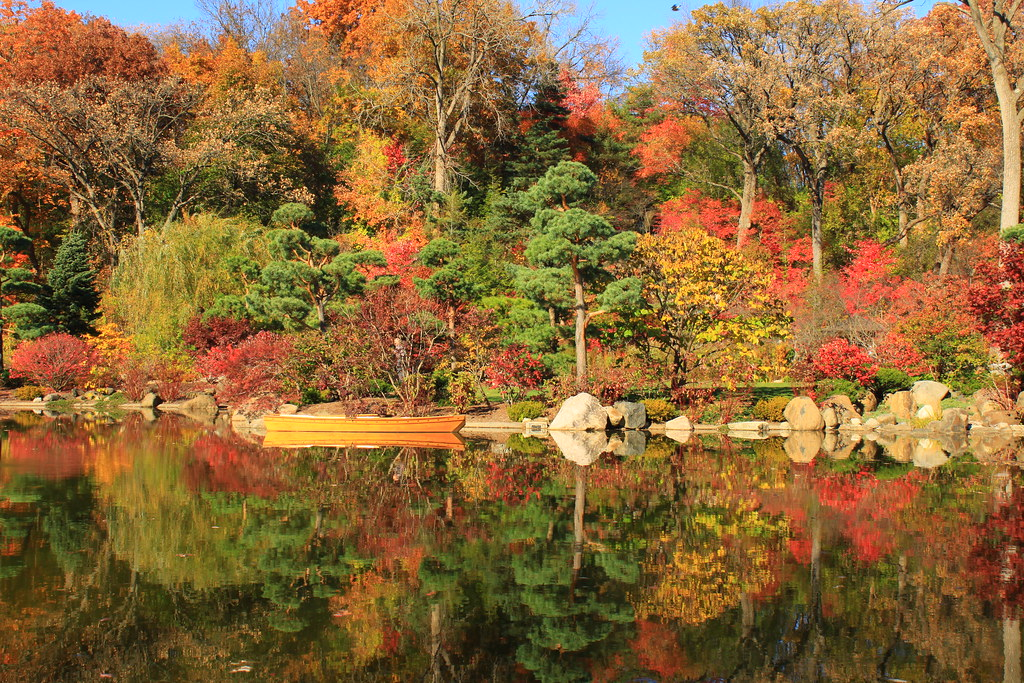 Fall Color Reflections Anderson Japanese Gardens Rockford Flickr
