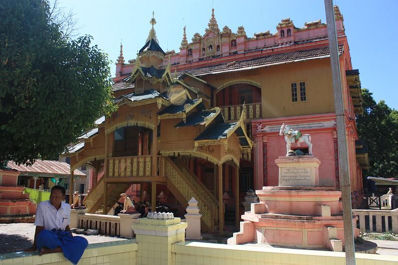 Бирма, Кремовый храм Thanboddhay