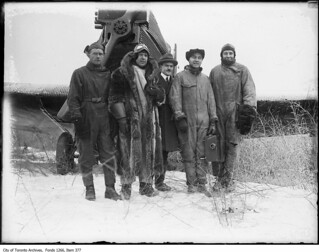 Pilots and cameraman at Leaside Aerodrome | by Toronto History