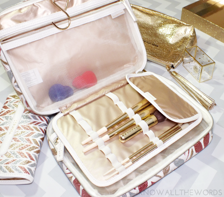 sephora collection sparkle & shine weekender  (1)