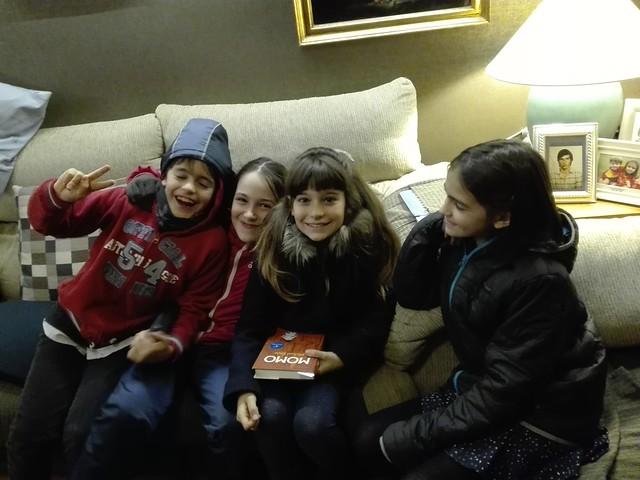 Nenas con Marco