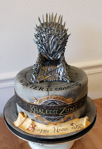 Iron Throne Name Day Cake Happy Name Day Game Of