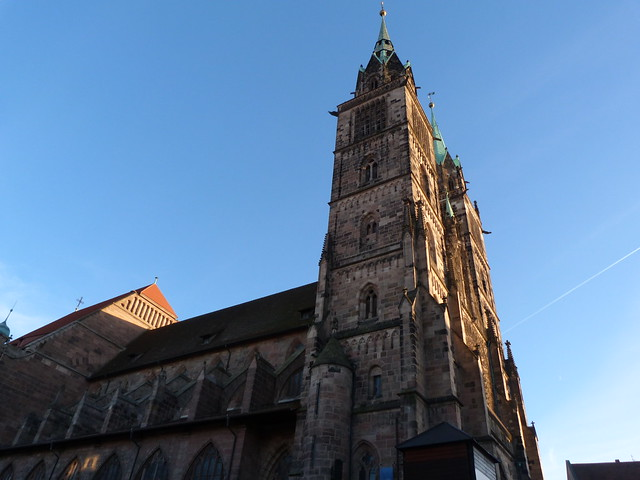 Iglesia de San Sebaldo en Núremberg (Baviera, Alemania)