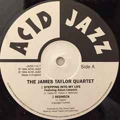 THE JAMES TAYLOR QUARTET:EXTENDED PLAY(LABEL SIDE-A)